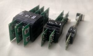 Braille twin Cell Modules made by Touchetech Labs
