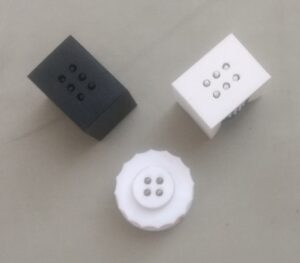 Photo of Mechanically Programmable Braille Cells